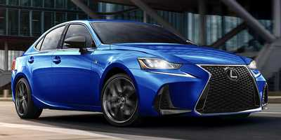 Спецверсия Lexus IS F Sport Blackline 2020